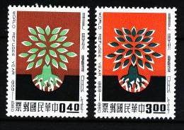 A2145) China Taiwan Mi.357-358 ** Postfrisch Unused MNH - 1945-... Republik China