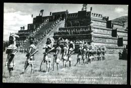 Cpa Du Mexique Mexico Dioses Sacerdotes Y Guerreros Teotihuacan     6ao28bis - Mexique