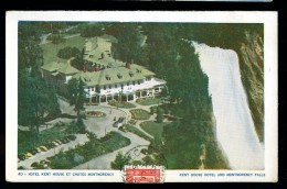 Cpa Du Canada Quebec Hotel Kent House Et Chutes Montmorency     6ao28bis - Montmorency Falls