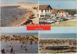 Moliets-Plage (Landes): 3x CITROËN DS, AMI, RENAULT 4, PEUGEOT 404 Etc. -  Auto/Car/Voiture - France - Turismo