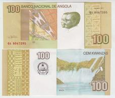 Angola 100  Kwanzas 2012 Pick New UNC - Angola