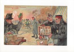 PAUL HAGEMANS ( La Cantine Du Soldat Prisonnier A Bruxelles) - Künstlerkarten