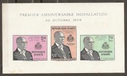 HAITI 1958 - Yvert #H9A - MNH ** - Haití