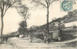 41 MONTRICHARD - LES TOURELLES - LE ROCHER DE DAME MARIE ( ATTELAGE ) - Montrichard