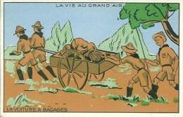 Scoutisme La Vie Au Grand Air  La Voiture à Bagages - Padvinderij