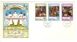 Premier Jour D´ Emission, FDC: Nouvelles Hebrides, Port Vila, Christmas, Noel, 1976, 08-11-76 (13-2976) - FDC