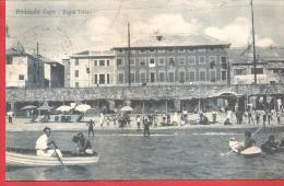 CARTOLINA VIAGGIATA ITALIA - ALBISSOLA CAPO - Bagni Torino - 9 X 14 Cm - ANNULLO ALBISSOLA 16 - 10 - 1933 PRESUNTO - Altre Città