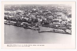 """Mozambique -Lorenzo Marques Devenu """"Maputo"""" ( Vue Aérienne Partielle Port) - Pas Circulé, Cpsm 9x14 - Mosambik"""