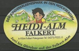 Bierdeckel Deutschland Heidi-Alm Falkert - Bierdeckel