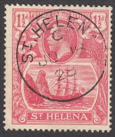 St Helena  1922  K.George V  11/2d  SG99  Used - Saint Helena Island