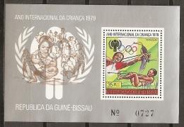 IYC - GUINEA-BISSAU 1979 - Yvert #H109 - MNH ** - Infancia & Juventud