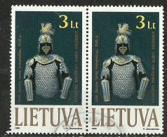 LITAUEN Lietuva Lithuania 1999 Der Ritter Michel 713 As A Pair O - Lithuania