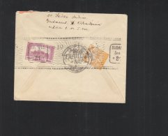 Hungary Cover 1921 Special Cancellation - Ungarn