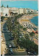 Cannes: CITROËN DS, PANHARD DYNA, PEUGEOT 403, RENAULT DAUPHINE - Croisette - Auto/Car/Voiture - France - Passenger Cars