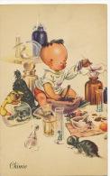Chimiste Chimie Enfant Alchimiste Chat Canard Souris - Altri