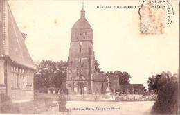 76 NEVILLE 1927 RUE DAME EGLISE ED DIARD ROUSSEURS MANQUE TIMBRE - France