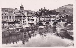 Cpa-11-saint Geniez D'olt-rive Droite ,le Pont-n°19 - Altri Comuni