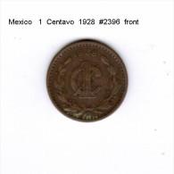 MEXICO    1  CENTAVO  1928  (KM # 415) - Mexico