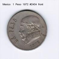 MEXICO    1  PESO  1972  (KM # 460) - Mexico