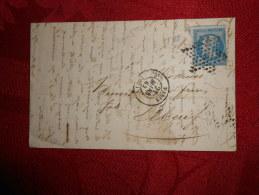 Lot Du 23-08-13_19_lettre Avec N°14,de   Paris,Etoile - Postmark Collection (Covers)