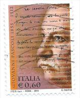 Italia 2012 ; Centenario Della Morte Di Giovanni Pascoli; Usato - 6. 1946-.. Repubblica
