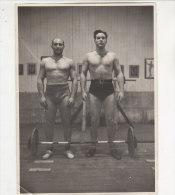 C1076 - FOTOGRAFIA - SOLLEVAMENTO PESI - ATLETI OLIMPIADI ? Anni '30 - Sport