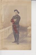 Carte Photo Photographe Chavanes Lyon Portrait Chasseur Alpin 27 ème Régiment Compagnie - Regiments