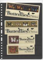 TANZANIA ,2012,MNH,BUTTERFLIES,  2 SHEETLETS + 2 S/Ss - Schmetterlinge