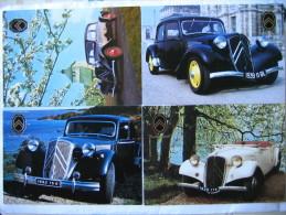 Voiture Automobile Citroen Traction 1935 1939 1952 - Cartes Postales