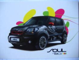 Voiture Automobile Kia Modèle Soul 2008 - Cartoline