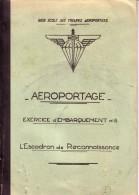 BASE ECOLE DES TROUPES AEROPORTEES.CAMP ASTRA PRES PAU.AEROPORTAGE.LIEUTENAN T GUIRAL. - Aviation