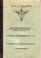 BASE ECOLE DES TROUPES AEROPORTEES.CAMP ASTRA PRES PAU.AEROPORTAGE.LIEUTENAN T GUIRAL.