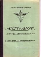 BASE ECOLE DES TROUPES AEROPORTEES.CAMP ASTRA PRES PAU.AEROTRANSPORT.LIEUTEN AN T GUIRAL. - Aviation