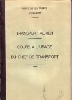 BASE ECOLE DES TROUPES AEROPORTEES.CAMP ASTRA PRES PAU.TRANSPORT AERIEN..OFFICER GUIRAL.