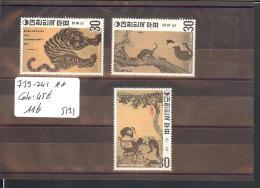 SUD KOREA  - No Michel 739-741 ** ( SANS CHARNIERE  )   - COTE: 45 € - Korea (...-1945)