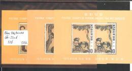 SUD KOREA  - No Michel 3 BLOCS 314c-316c ** ( SANS CHARNIERE  )   - COTE: 220 € - Korea (...-1945)