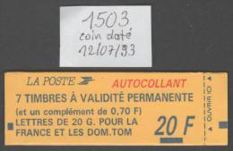 Carnet  N° 1503  Neuf  **  TTB - Freimarke