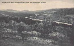 Vermont Woodstock White River Valley On Coolidge Highway Albertype - United States