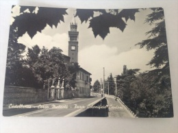 CASTELLANZA - Corso Matteotti - Parco Cotonificio Cantoni - Cartolina FG BN V 1962 - Italia