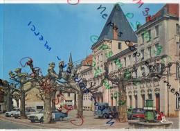 01 AIN .....  Jujurieux - 4 Cartes - Vue Générale Et La Place - France