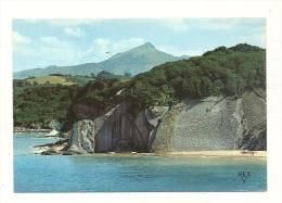 Cp, 64, Hendaye, La Baie De Loya, Au Fond, La Rhune - Hendaye