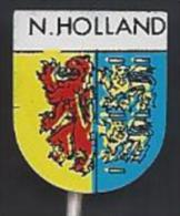 NL.- 5 Pins - Provincie: Noord-Brabant; Noord-Holland; Overijssel; Zeeland En Zuid-Holland. Speldje. Speld. Steekspeld - Pins