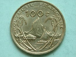 2010 - 100 FR / KM 14 ( For Grade, Please See Photo ) !! - French Polynesia