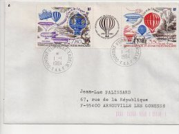 Ref JX Enveloppe Alfred Faure Pont Aux Français Dumont D'Urville  T.A.A.F Terres Australes Et Antartiques Françaises - Storia Postale