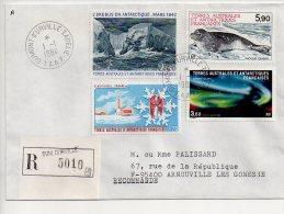 Ref JX Enveloppe Alfred Faure Pont Aux Français Dumont D'Urville  T.A.A.F Terres Australes Et Antartiques Françaises - Cartas