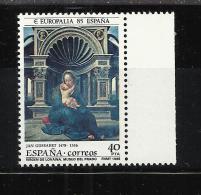 ESPAÑA EMISION CONJUNTA CON BELGICA EUROPALIA VIRGEN DE LOVAINA EL PRADO - Madonnas