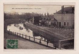 CHATILLON-COLIGNY(45) / BATELLERIE / PENICHES / Vue Du Port - Chatillon Coligny