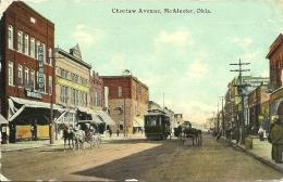 Choclaw Avenue - McAlester - Oklahoma - Etats-Unis