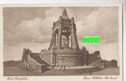 Porta Westfalika, Kaiser Wilhelm-Denkmal, Um 1915 - Monuments