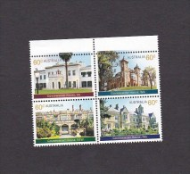 Australia 2013 Historical Architecture ,Government HousesSet  MNH - Ungebraucht
